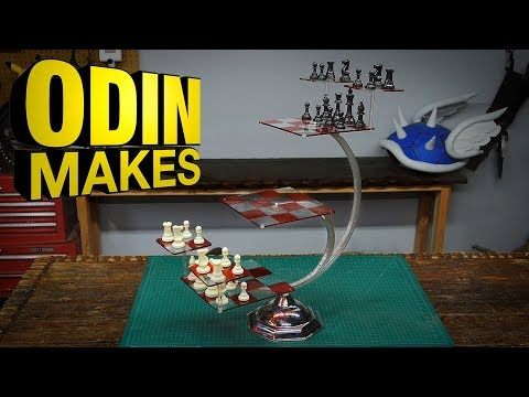 Odin Makes: Tri Dimensional Chess From Star Trek