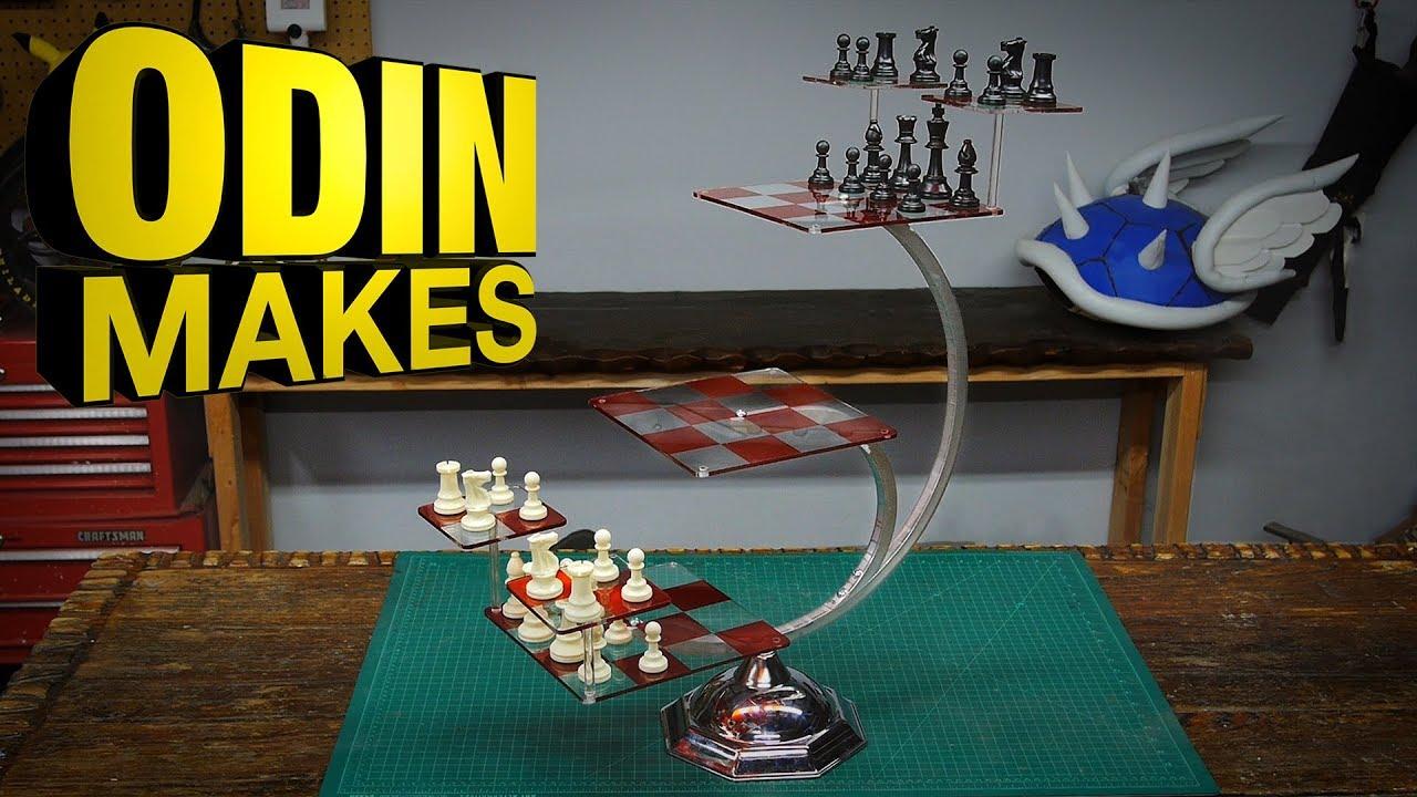 Odin Makes Tri Dimensional Chess From Star Trek Youtube