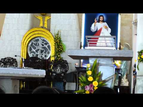 Thánh Lễ Kính Lòng Thương Xót Chúa trưa Thứ Năm 9.6.2011 - Nhà Thờ Chí Hòa