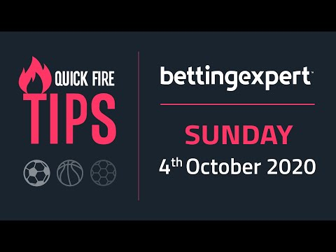 Betting tips today | The best bets for Sunday 4th October