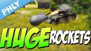 Massive Rockets - Rbt-5 420mm Rockets (War Thunder Tank Combo Gameplay)