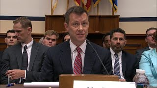 Lawmakers grill FBI agent Peter Strzok on Capitol Hill
