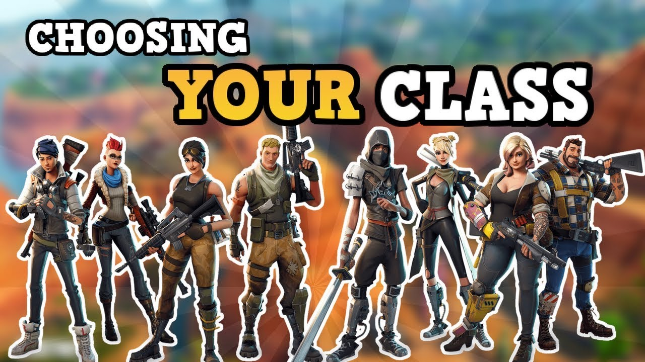 Which Class Is the Best to Play in Fortnite: Save the World