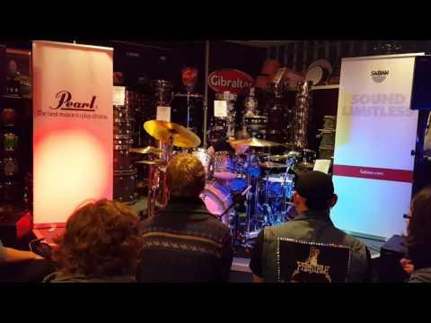 Moritz Müller - Pearl & Sabian - House of Drums Bochum
