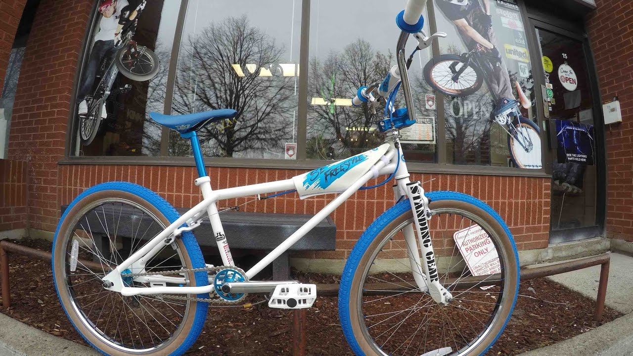2016 Se Bikes 24 Quadangle Cruiser Bmx Unboxing Harvester Bikes