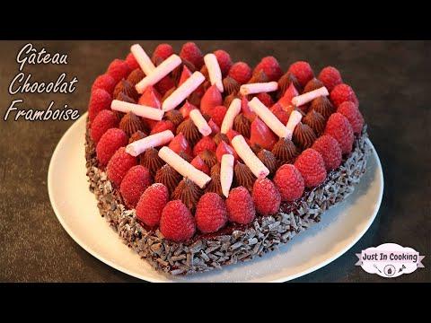recette-de-gâteau-chocolat-framboise-pour-la-fête-des-pères