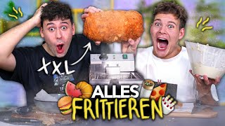 2 IDIOTEN FRITTIEREN ALLES in XXL mit CrispyRob | Joey's Jungle