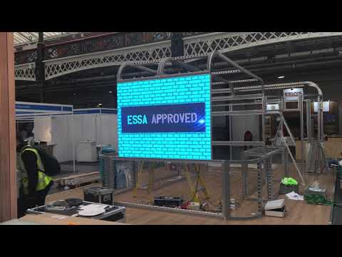 Exhibition Stand Rental London : Led wall rental hire for exhibition stands london olympia
