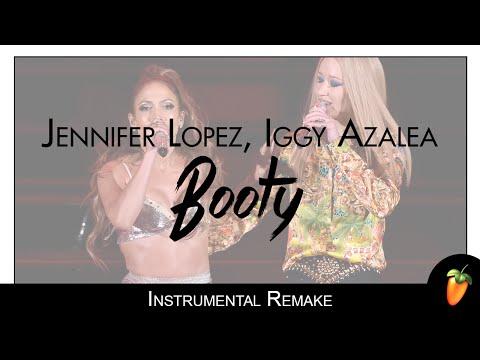 Jennifer Lopez - Booty (American Music Awards 2014) (Instrumental Remake)
