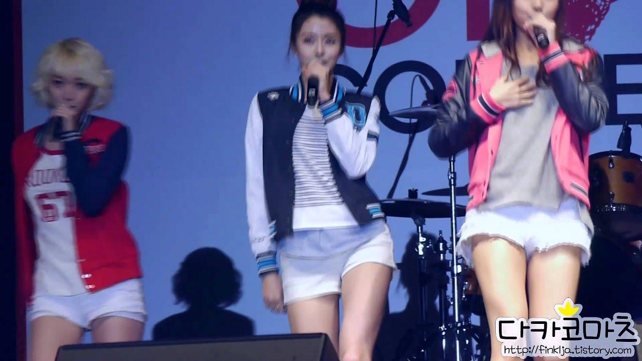121125 K-POP 기부콘서트 헬로비너스(나라) - 멘트   비.Nu.스