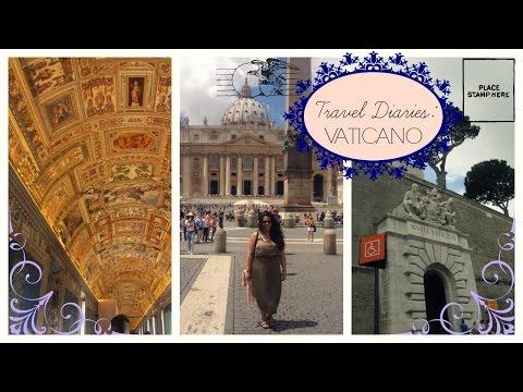 TRAVEL VLOG || Vatican Museums, Sistine Chapel, St.Peter's Square, Italia