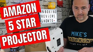 Amazon 5 Star Rated Mini Projector Elephas 3600 Lumen Review