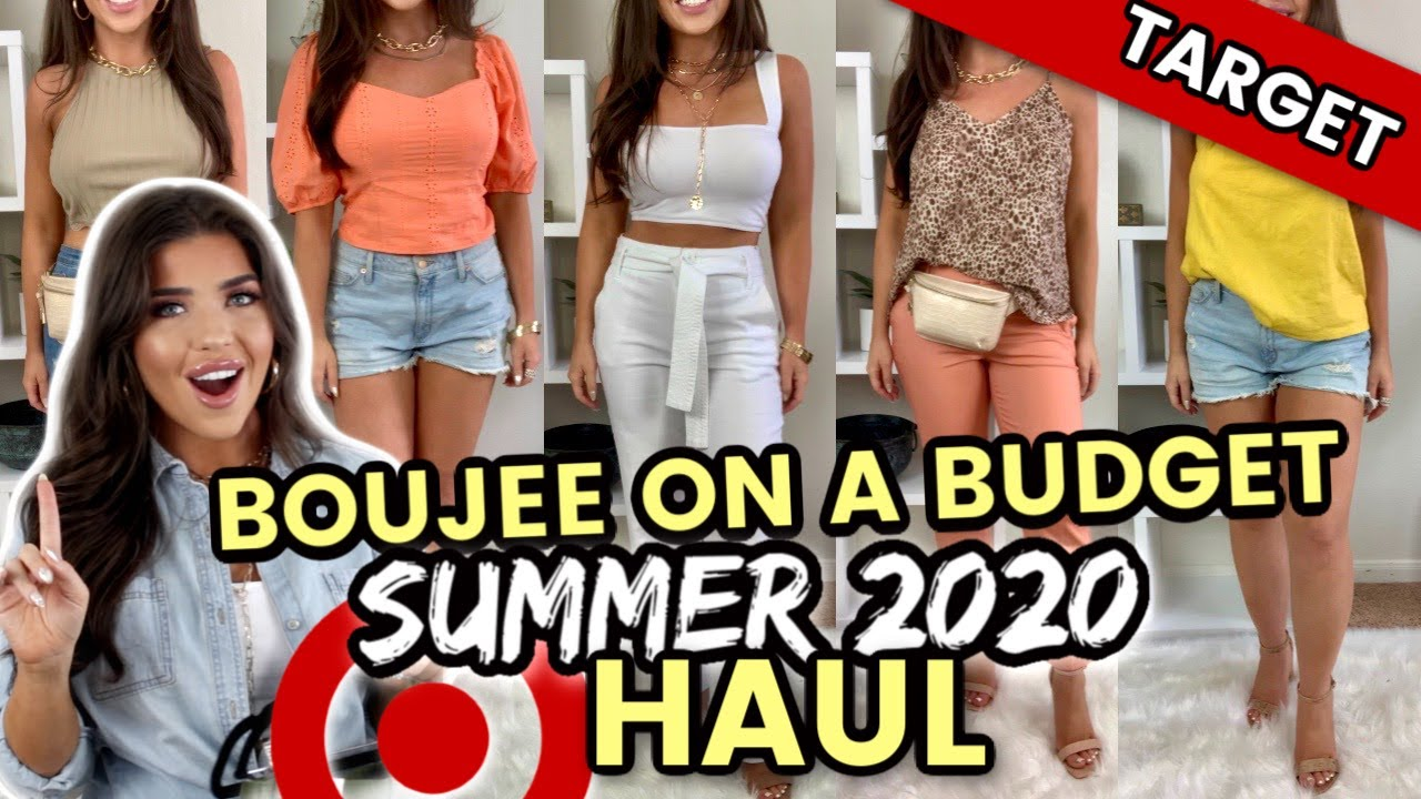 HUGE TARGET HAUL | Target Clothing Try On Shopping Haul | Summer 2020 Affordable Haul #TargetHaul