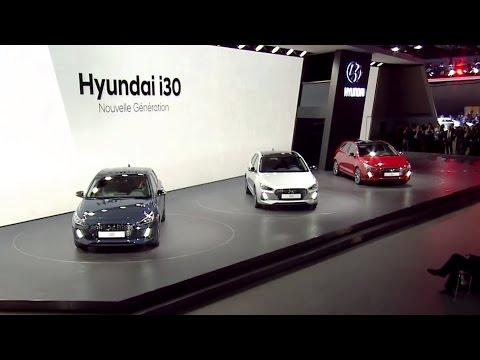 All-New Hyundai i30 revealed at the Paris Motor Show