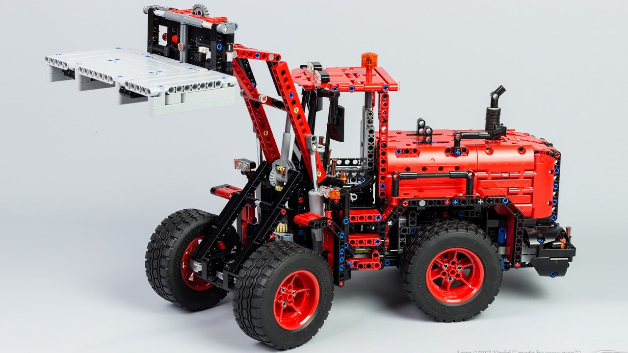 Lego Technic 42082 Model C Wheel Loader Youtube