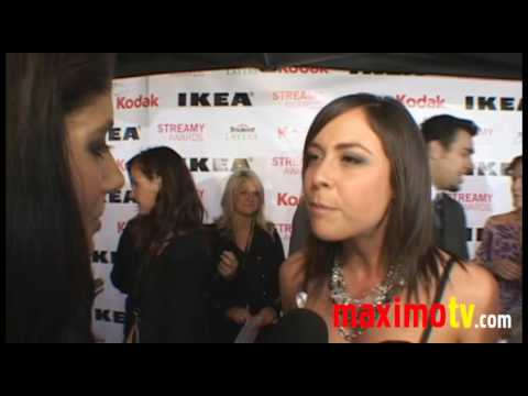 Shira Lazar Interview | 2nd Annual Streamy Awards | ARRIVALS