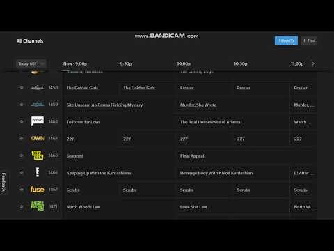 Comcast Xfinity Stream San Francisco Bay Area Channel Guide January 7, 2018