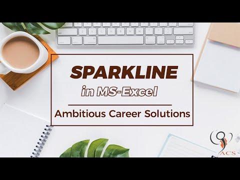 Spark Line Topic In Excel(Ye Aa Gya To Sab Aa Gya)