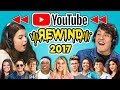 TEENS REACT TO YOUTUBE REWIND 2017