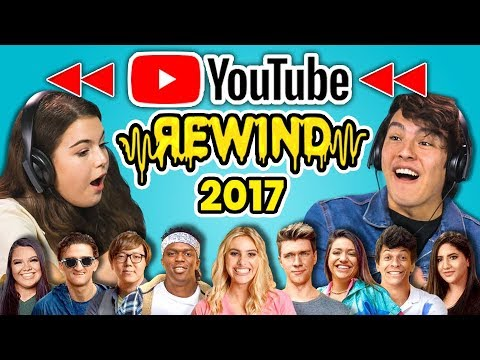 TEENS REACT TO YOUTUBE REWIND 2017