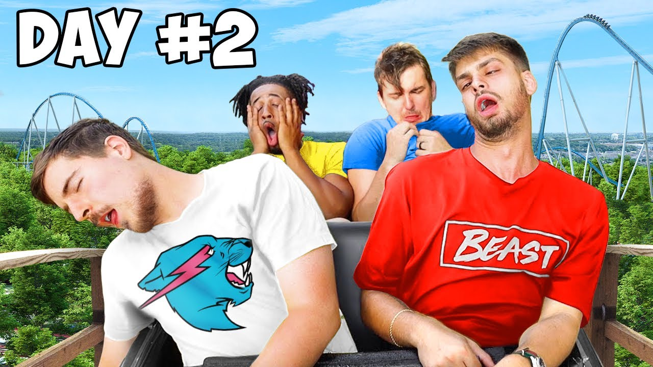 Last To Leave Roller Coaster Wins $20,000 - Challenge image