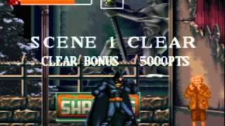 Batman Returns - SNES Gameplay