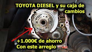 Cómo ahorrar +1000€ en reparar la caja de cambios de nuestro Corolla y otros Toyota Diésel