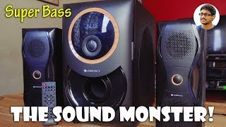 The Sound Monster! Zebronics Bravo 2.1 Multimedia Speakers Review