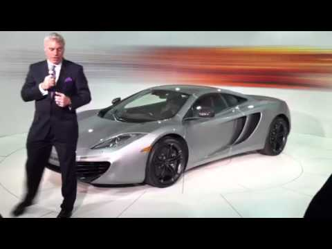 Frank Stephenson on the McLaren MP4 12C