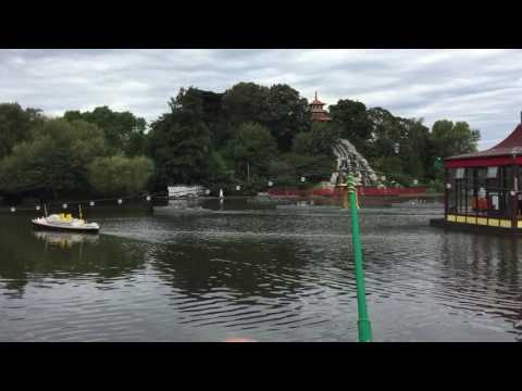 Naval Battle. Scarborough. Peasholm Park