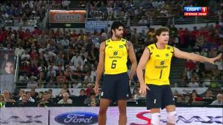 Repeat youtube video 2010 FIVB Men's World Championship Final - Brazil vs Cuba clip5