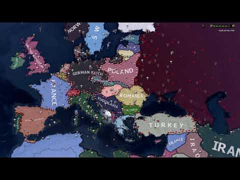 HOI4 | x2 Increased Political Power Gain | 1936 Historical AI |