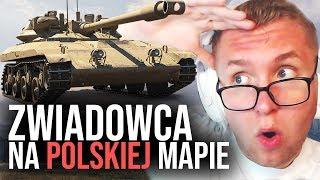 ZWIADOWCA NA POLSKIEJ MAPIE - World of Tanks