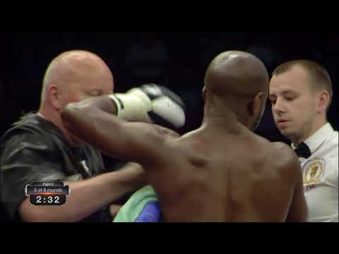LUTHER CLAY VS JEAN-PIERRE HABIMANA - SIESTA BOXING PROMOTIONS, ARENA RIGA, LATVIA MAY 12TH 2018