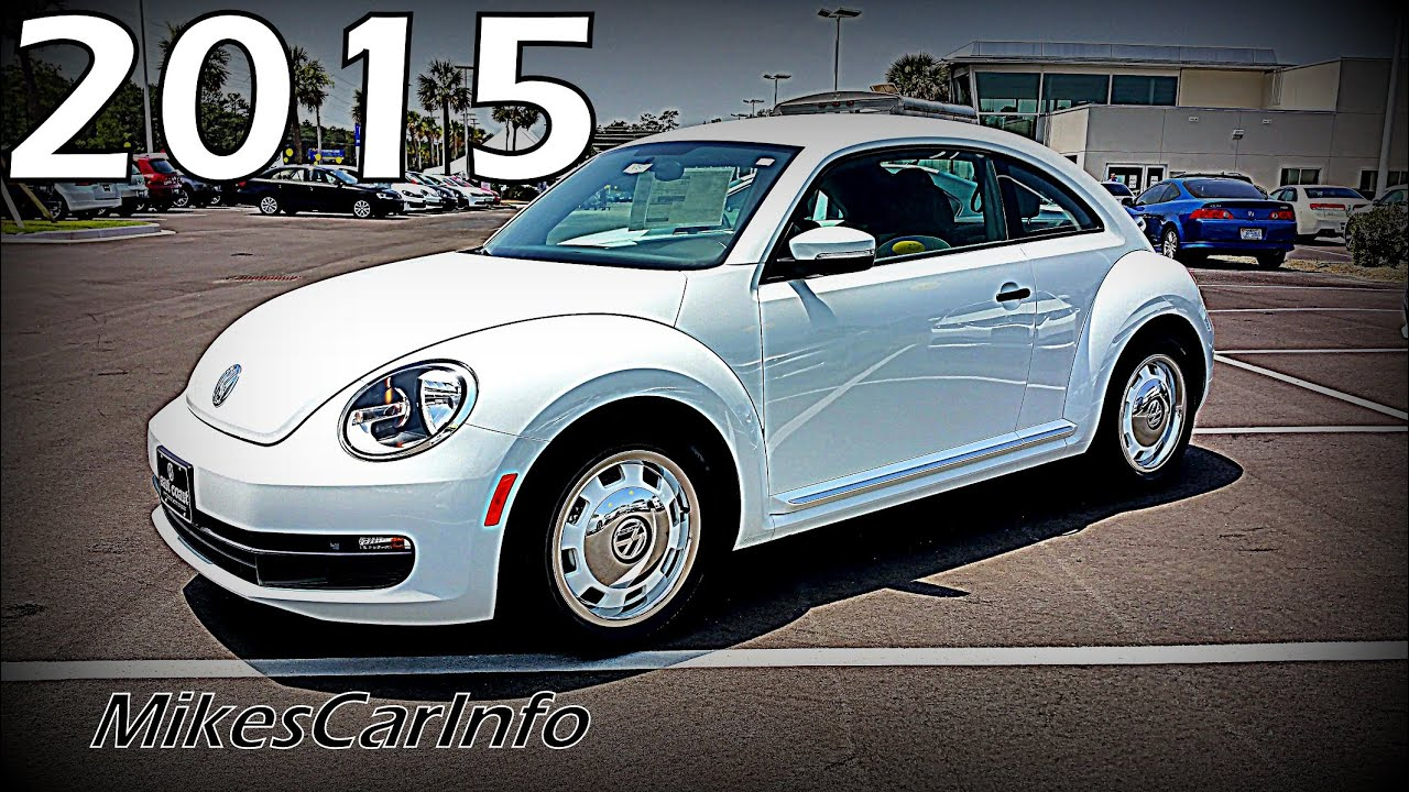 2015 volkswagen beetle 1 8t classic coupe vw youtube. Black Bedroom Furniture Sets. Home Design Ideas