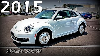 2015 Volkswagen Beetle 1.8T Classic Coupe VW