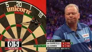 Betway Premier League Darts 2014 Week Week 14 Raymond van Barneveld v Michael van Gerwen