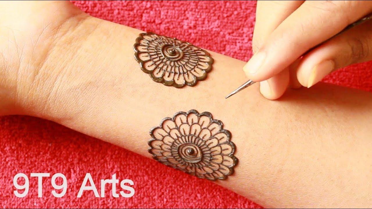 Bold & Beautiful Dulhan Mehndi Design by 9T9 Arts  Bridal Henna Mehndi Design  Negative Space Mehndi