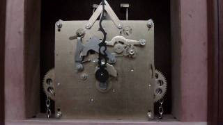 Grandfather Clock Movement Chimes Off.