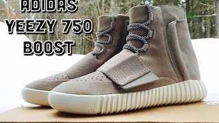 ADIDAS YEEZY 750 BOOST DETAILED REVIEW!