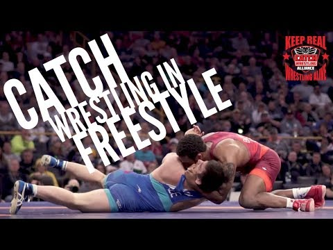 Catch Wrestling in Freestyle: Jordan Burroughs (USA) Pins Gasjimurad Omarov (Azerbaijan)