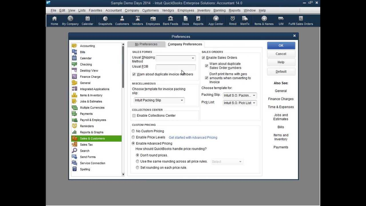 Advanced Pricing for QuickBooks Enterprise Solutions Demo - YouTube