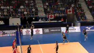 NORCECA Championship 2013 Final USA vs Canada - Sep 28,2013