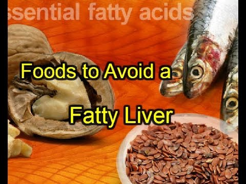 Foods to Avoid a Fatty Liver