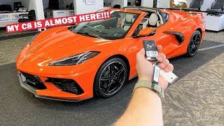 THEY LET ME BORROW A C8 CORVETTE TO FILM!!! (IT