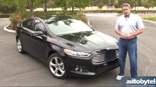 2014 Ford Fusion SE Test Drive Video Review w/ 1.5 Liter EcoBoost Engine Option