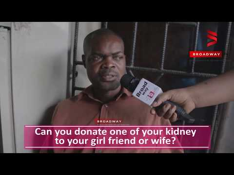 VOX POP: Nigerians react to donating a kidney to their spouse