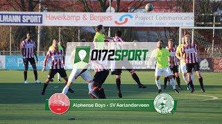 Samenvatting Alphense Boys - Aarlanderveen | 23 februari 2019