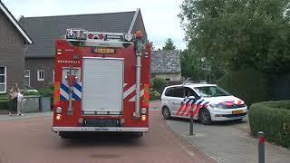 TVEllef: Boom in brand door onkruidbrander in Posterholt