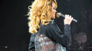 Rihanna performing Birthday Cake & Talk That Talk live in Amsterdam (Diamonds World Tour)